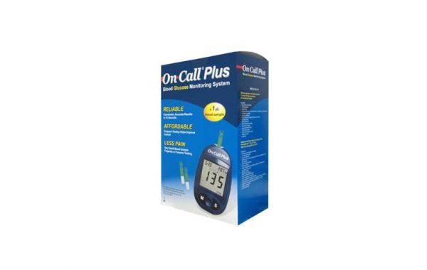 aparelho medidor de glicose on call plus