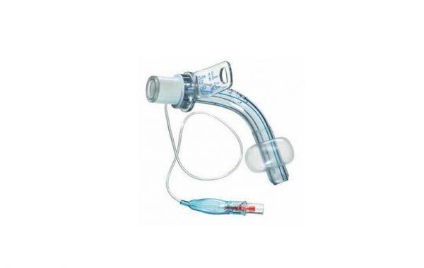 canula de traqueostomia em pvc com balao marca bci