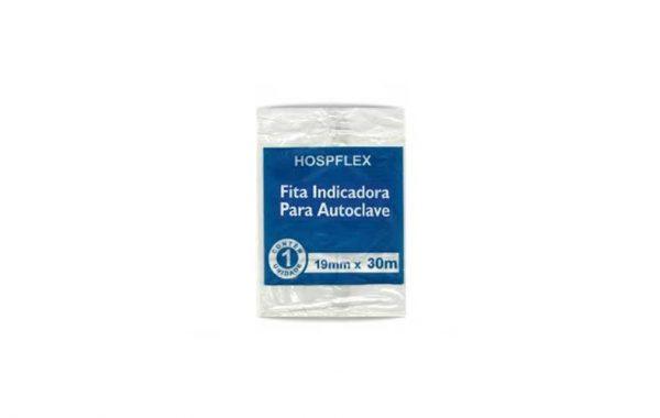 pacote de fita indicadora para autoclave 19x30 da marca hospflex