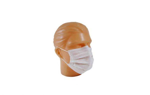 máscara cirúrgica descartável tiras ou elástico da marca descarpack